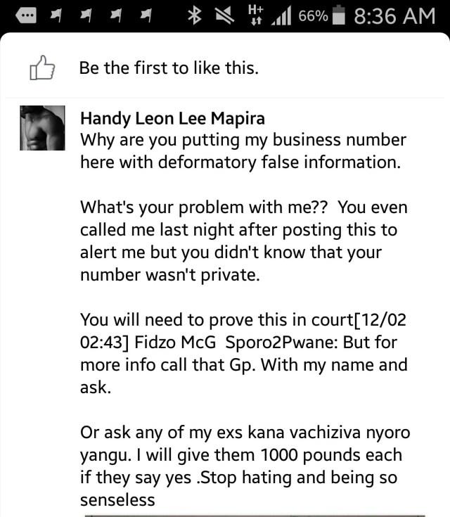 hardy leon mapira news