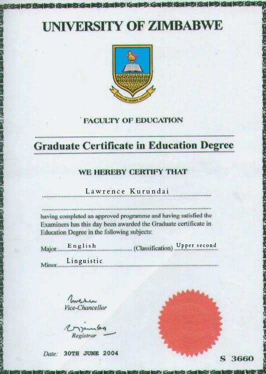degree(1)