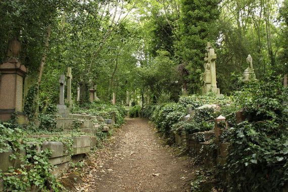 1200px Highgate Cemetery East - Muswell Hill and Highgate: The Top Locations You Should Visit
