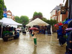 a rainy Muswell Hill