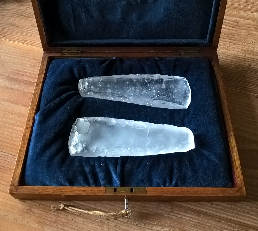 Conversations with Magic Stones - The Collectors Axes - Orkney