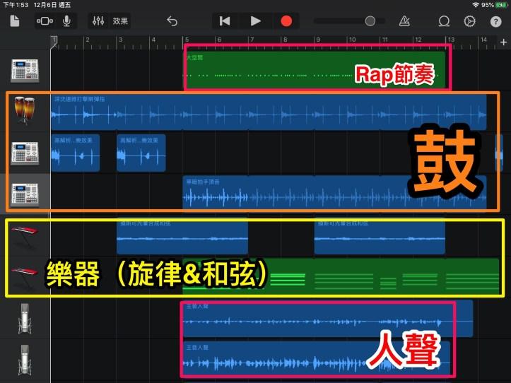 《Garage Band+ iMovie》防震Rap製作 – 鍾愛樂的音樂教學札記/ iPad 融入音樂教學