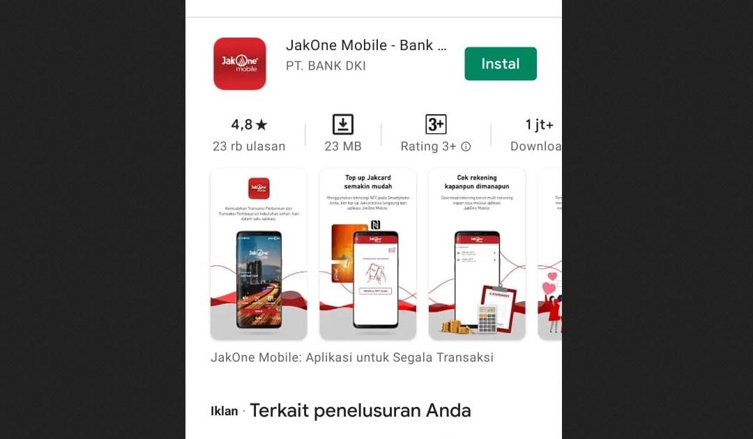 Cara Cek Saldo KJP di HP via Aplikasi JakOne Mobile, Simpel!