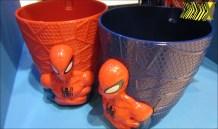 O Homem-Aranha (Lacta) não podia faltar, com uma caneca pra lá de estilosa.