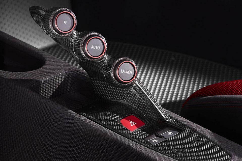 Ferrari 458 Speciale Interior Controls