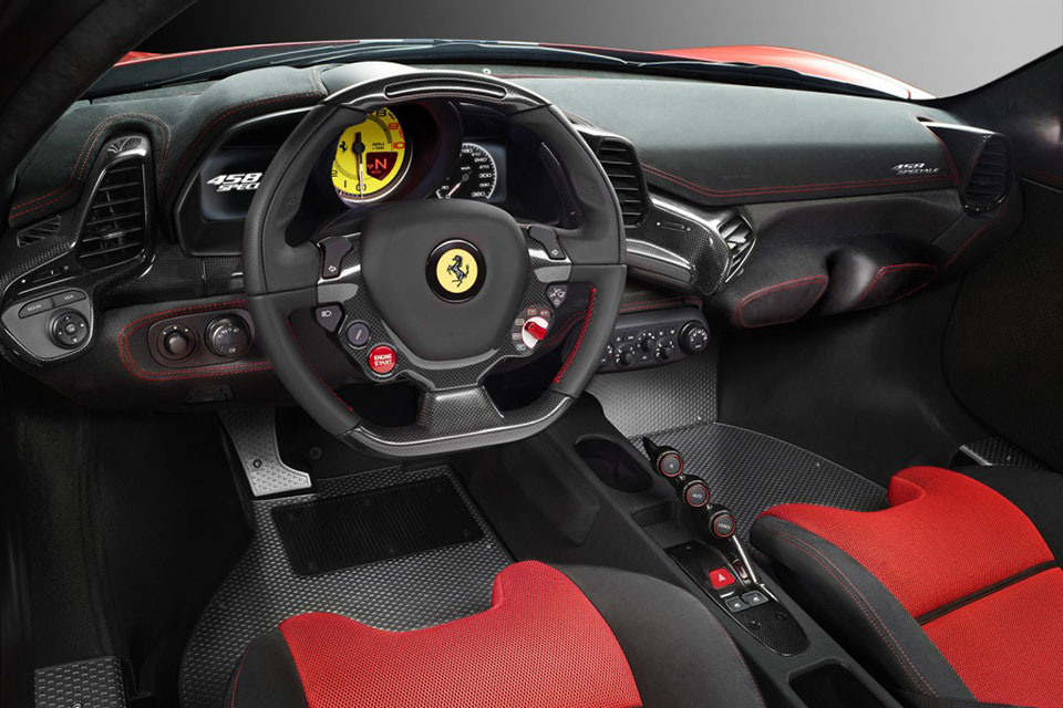 Ferrari 458 Speciale Dash