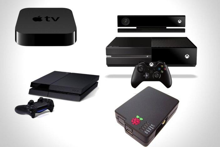 playstation-4-xbox-one-apple-tv-raspberry-pi