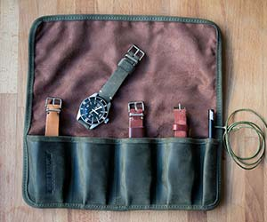 Watch Roll by Worn & Wound | The Best Men's Stocking Stuffers