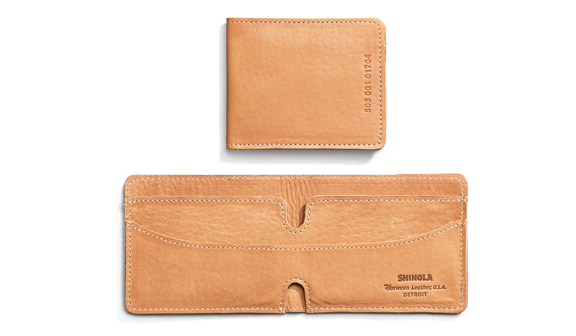 Best Mens Wallets | SHINOLA BIFOLD WALLET