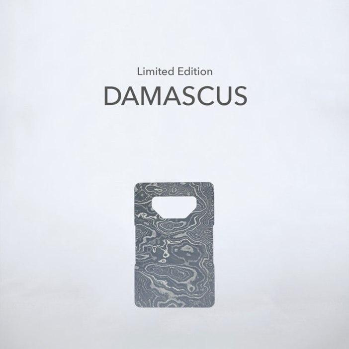 Spine Damascus Wallet