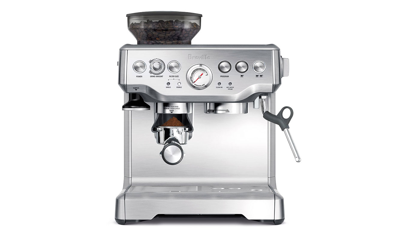 Breville BES870XL Barista Express | Best Espresso Machines