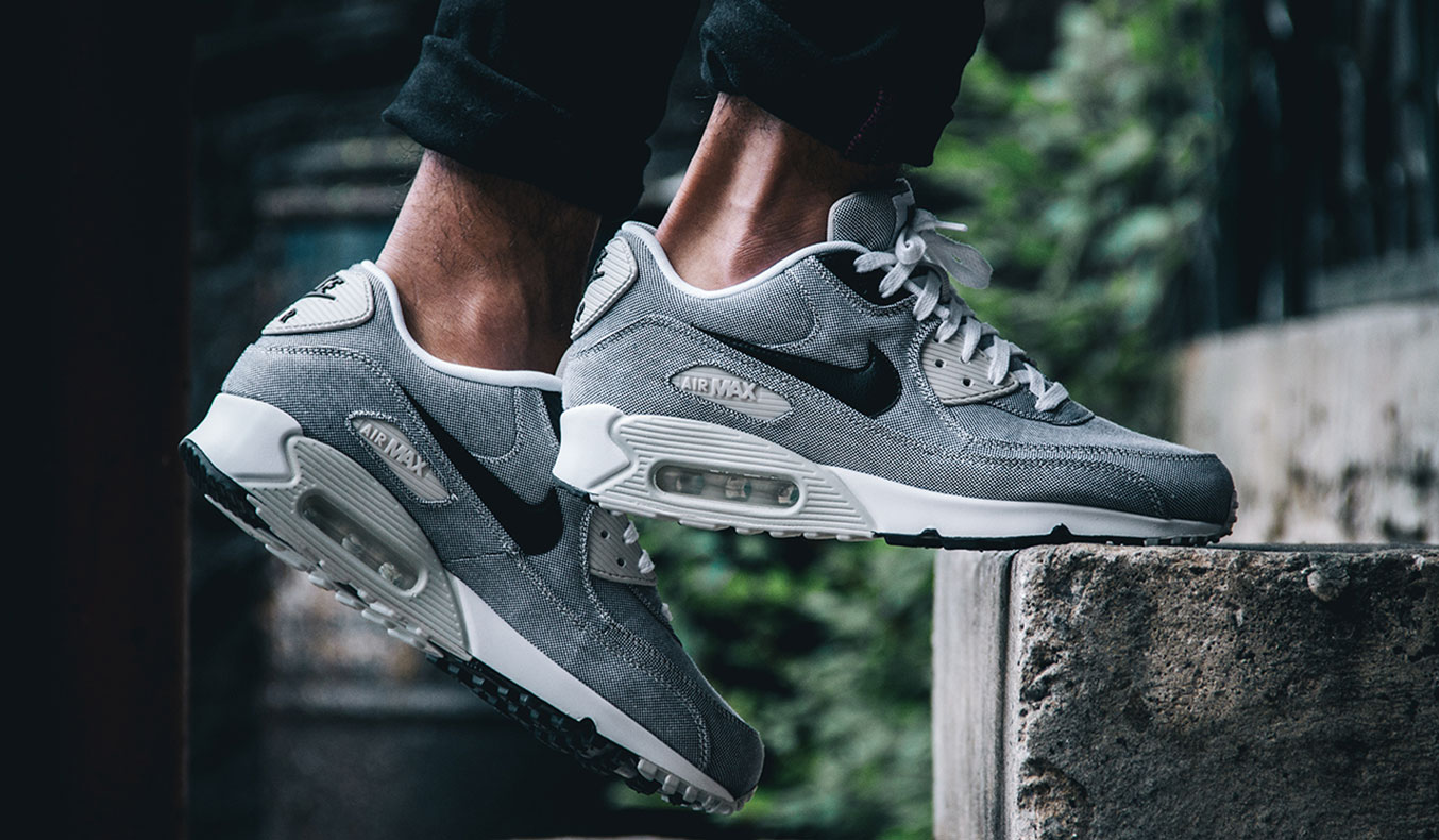 "NIKE AIR MAX 90 PREMIUM ""GRAY SAIL"""
