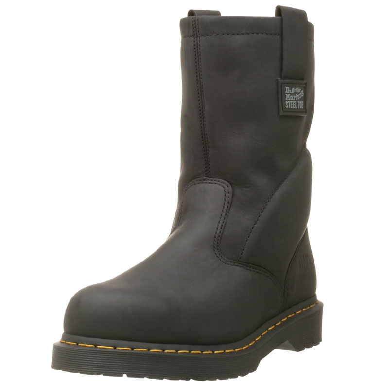 Dr. Martens Iconic Industrial Strength Steel Toe Mens Work Boots | Best Mens Work Boots