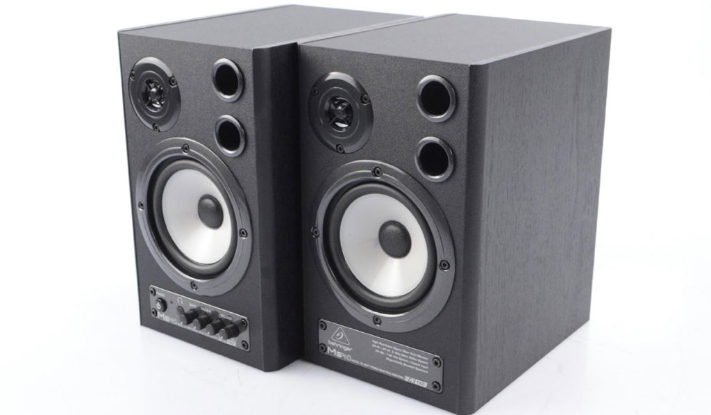 Behringer MS40 Active Stereo Desktop Speakers | The Best Desktop Speakers