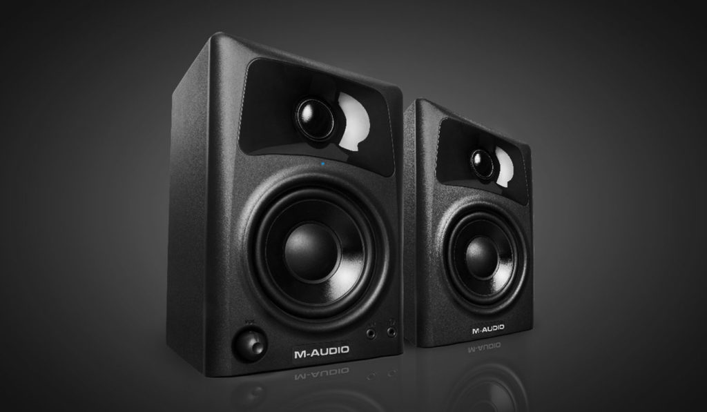 M Audio AV32 Two Way Desktop Reference Speakers   The Best Desktop Speakers