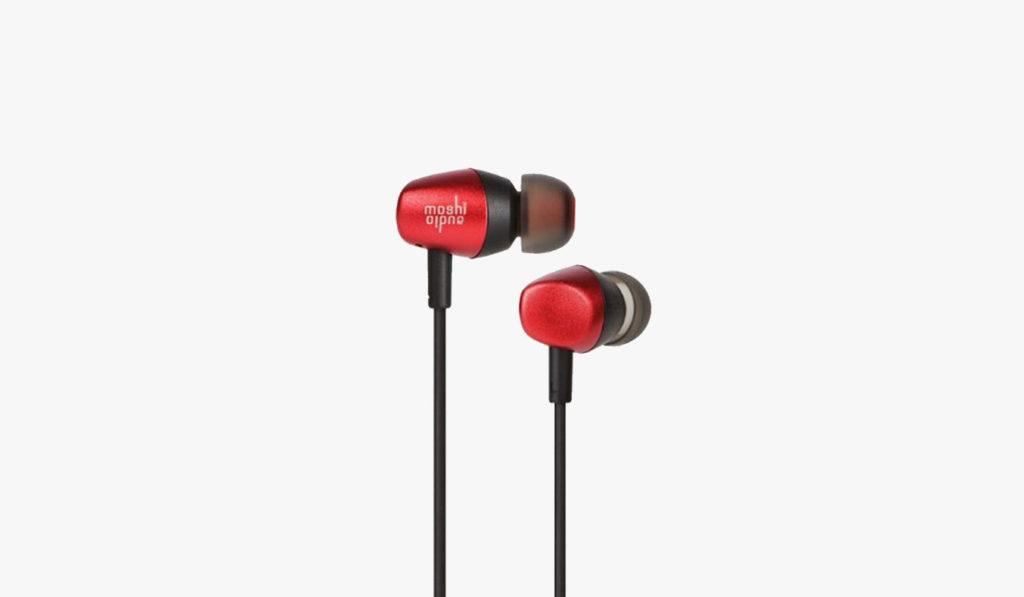 best budget earbuds | Moshi-Mythro-Red-Earbuds-with-Microphone-01