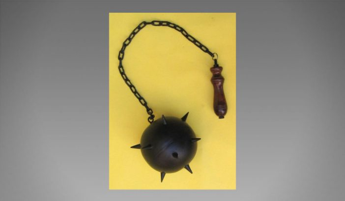 Handtooled-Handcrafted-Medieval-Mace-01