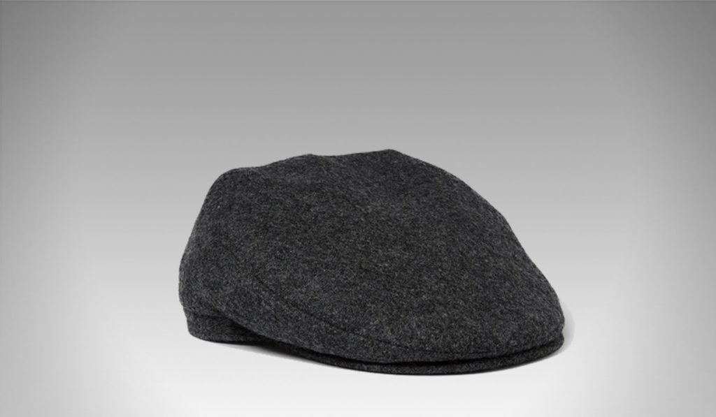 Lock & Co Hatters' charcoal flat cap | Best Men's Winter Hats