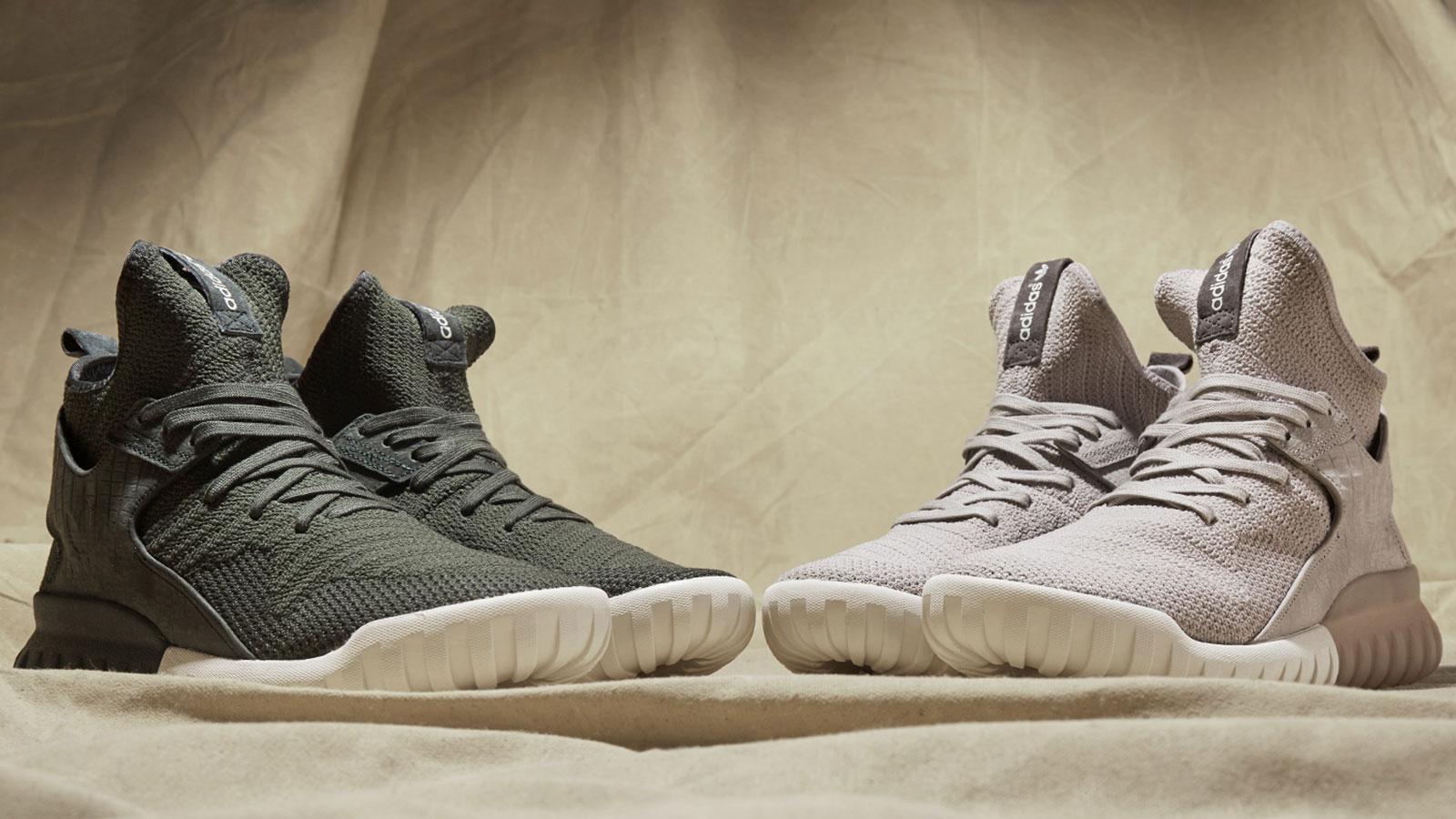 "adidas Tubular X Primeknit ""Clear Granite"""