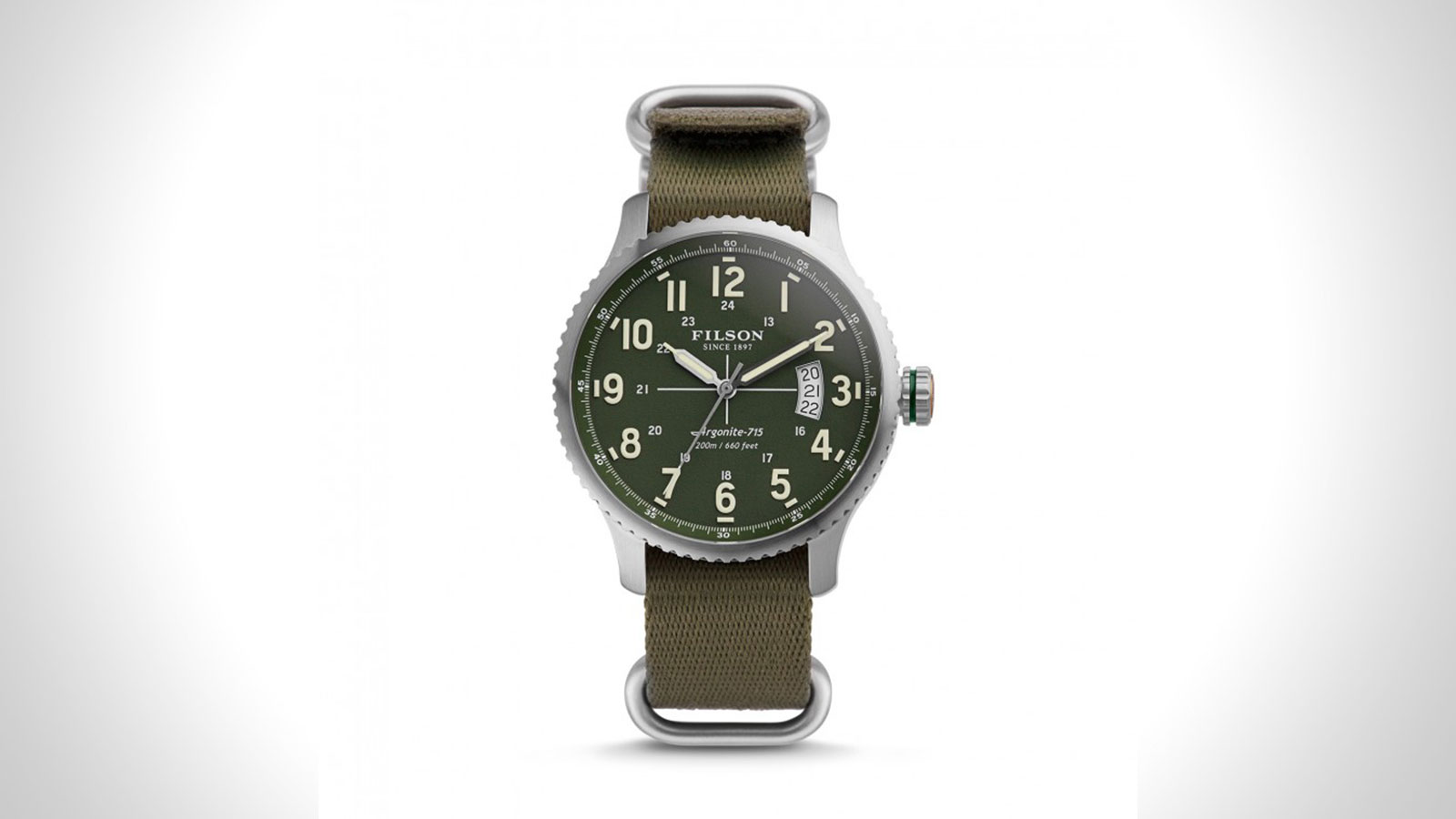 Filson Mackinaw Mens Field Watch | the best mens field watch