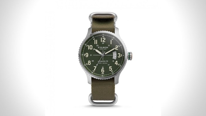 Filson Mackinaw Mens Field Watch | the best mens field watch