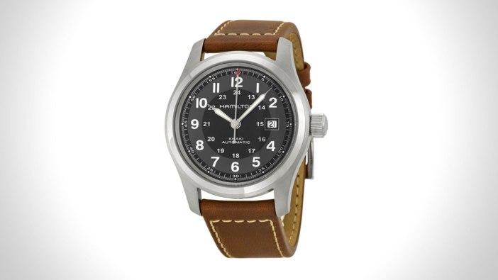 Hamilton Khaki Mens Field Watch | the best mens field watch