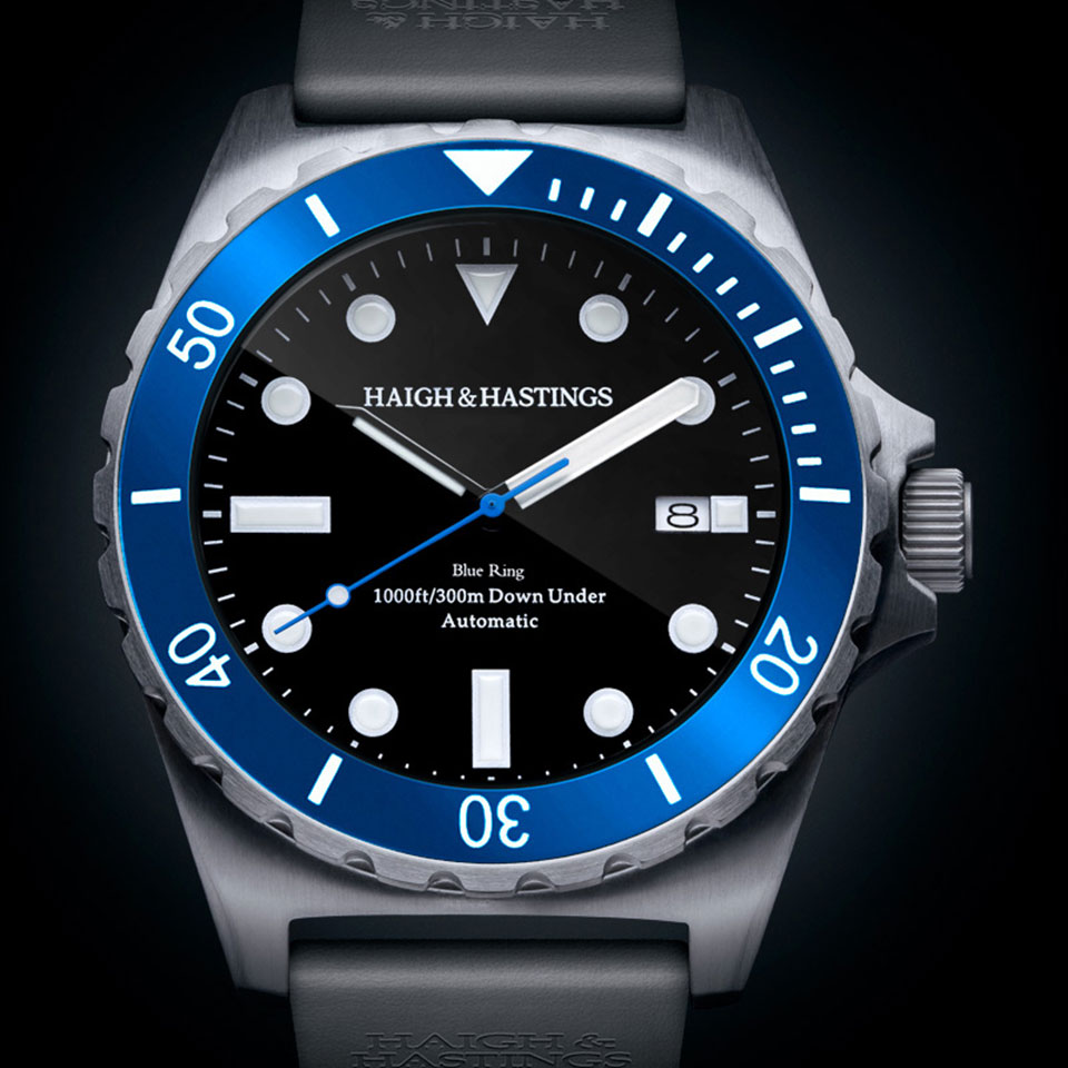 M2 Diver By Haigh & Hastings | Best Dive Watches for Men