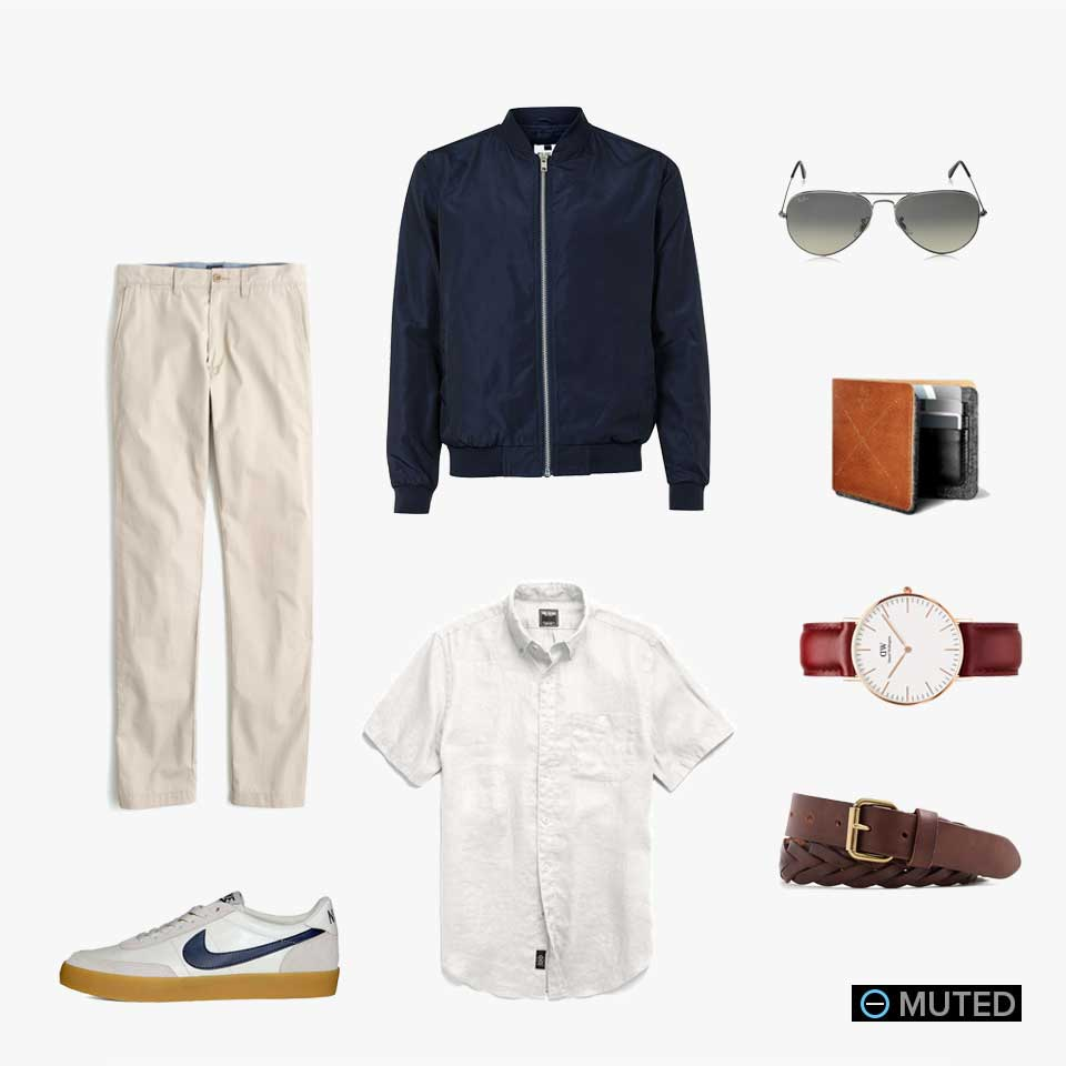 muted mens outfit ideas #30