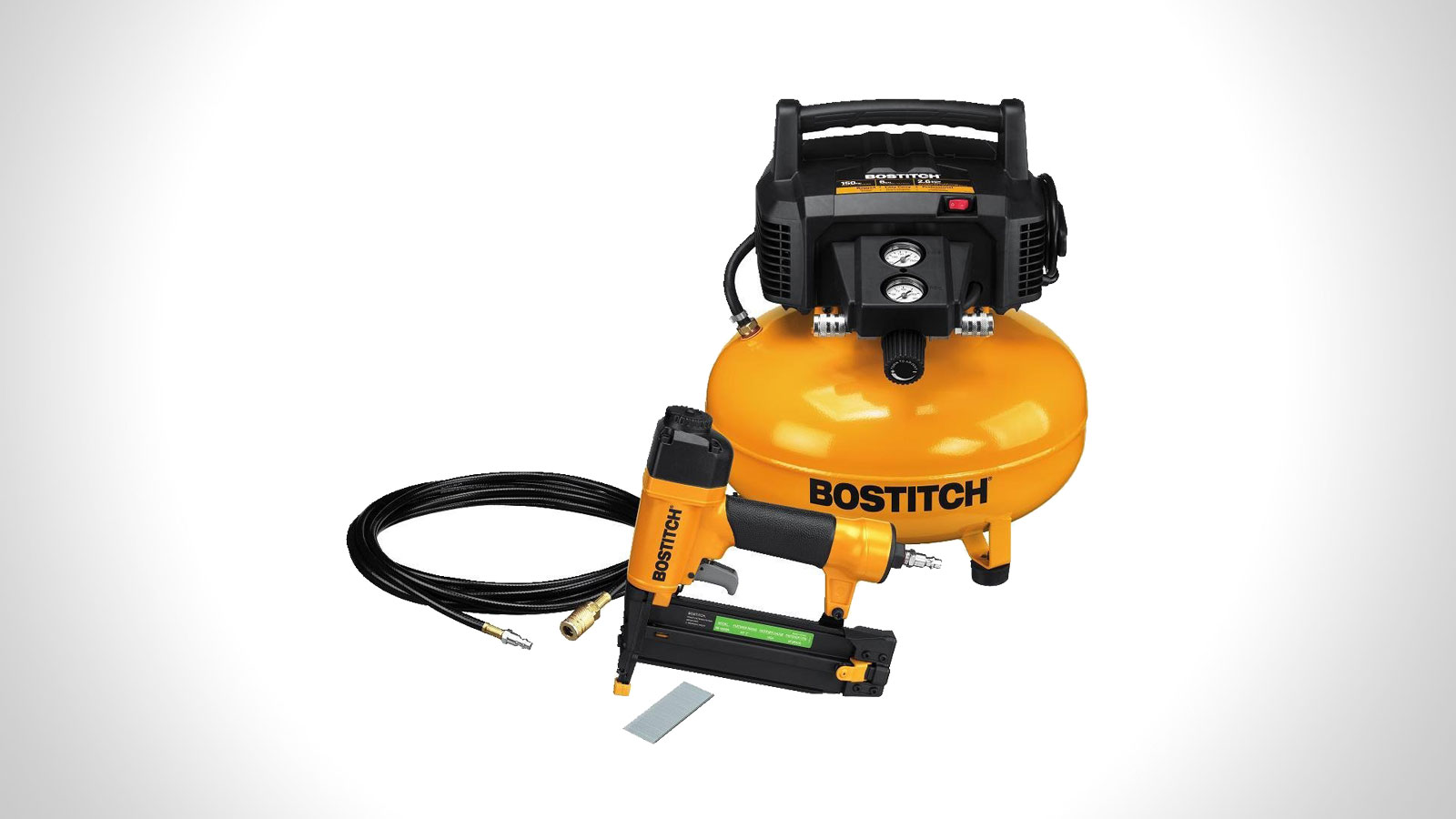 Bostitch Brad Nail & Compressor Combo Kit | gifts for men | the best tool gift ideas