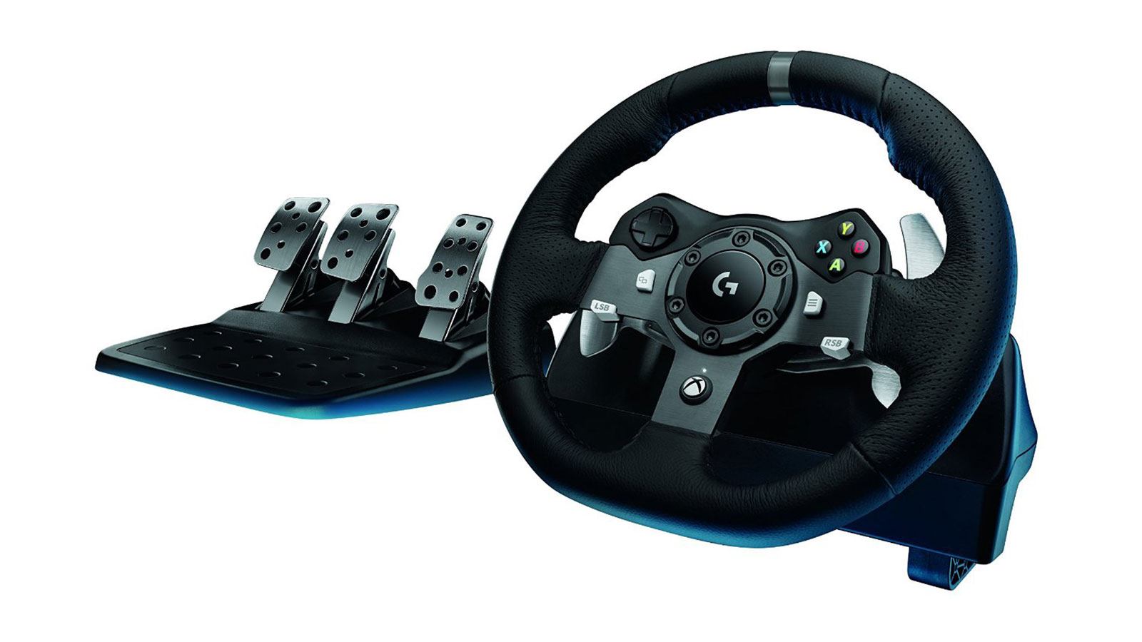 Logitech G920 Driving Force Racing Wheel | gifts for men | gifts for drivers