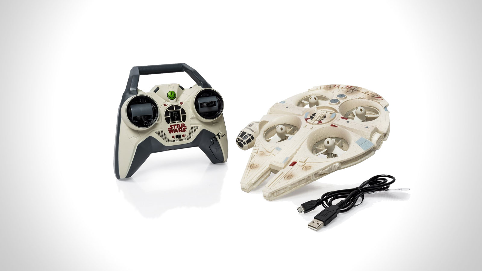 Star Wars Remote Control Millennium Falcon Quad | gifts for men | the best star wars gifts