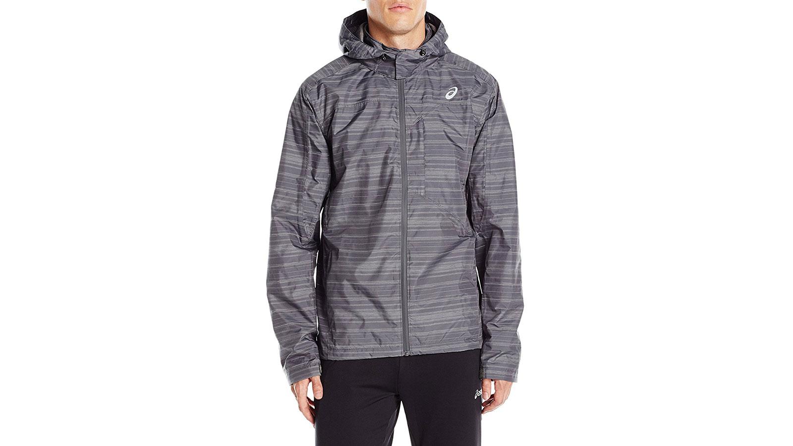 Asics Storm Shelter Running Men's Windbreaker Jacket | the best men's windbreakr jackets