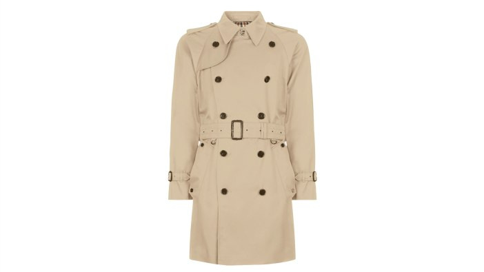 Aquascutum Corby Double Breasted Men's Trench Coat | The Best Men's Trench Coats