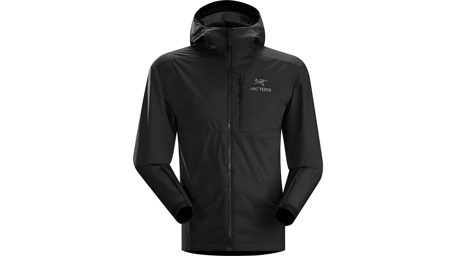 Arc'teryx Squamish Hoody Men's Windbreaker Jacket | the best men's windbreakr jackets