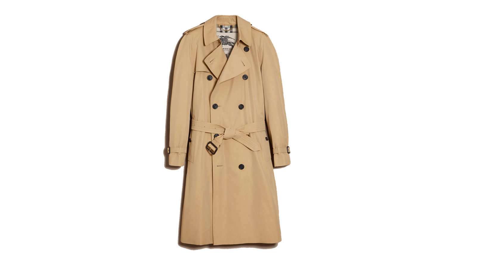 Burberry Mens Westminster Trench Coat | The Best Men's Trench Coats