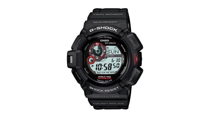 Casio Men's G9300-1 Mudman Sports Watch | the best men's watches under $200