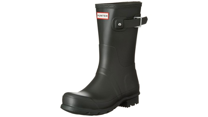 Hunter Original Short Men's Rain Boot | the best men's rain boots