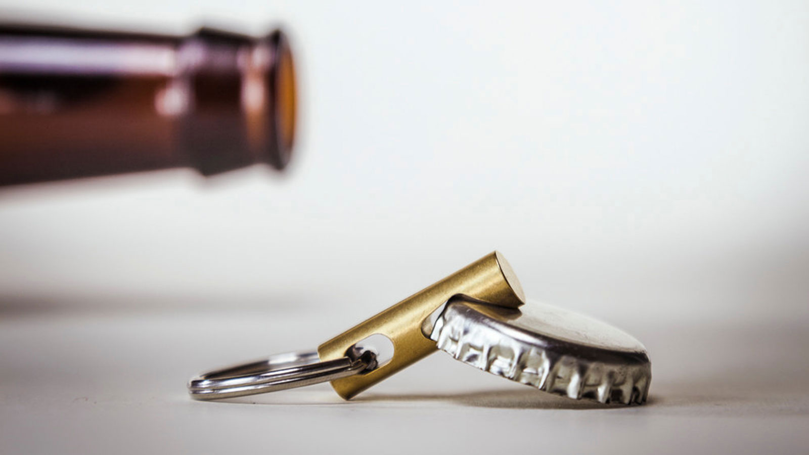 Brass Keychain Bottle Opener | cool bottle openers for men