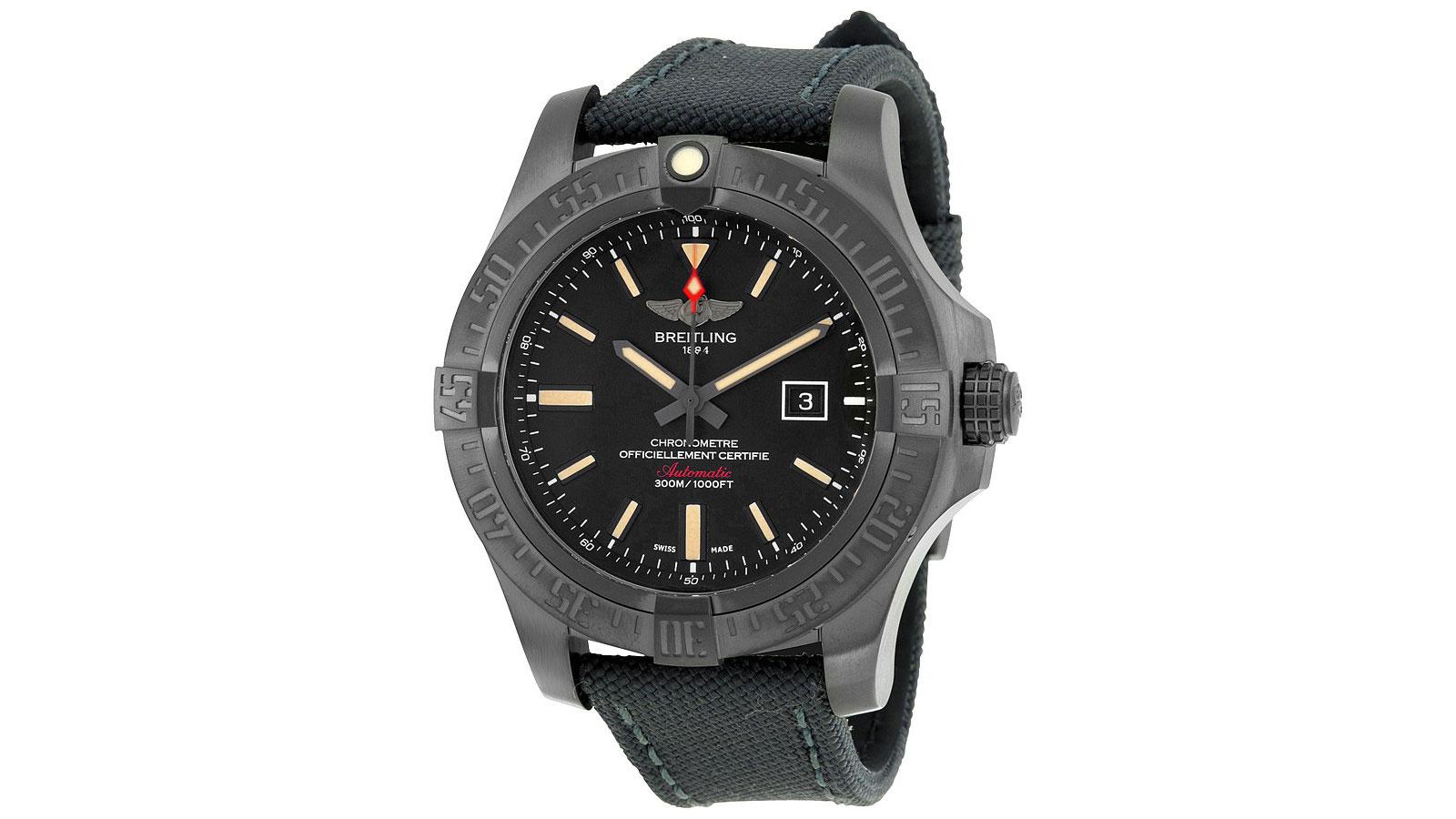 Breitling Blackbird Pilot Watch | the best pilot watches for men