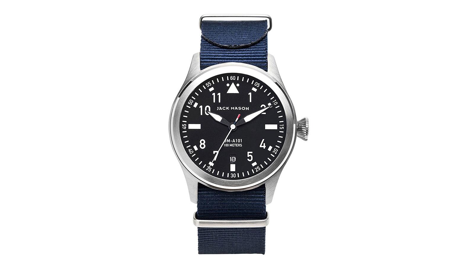 Jack Mason Aviator 3 Hand Watch   best men's watches under $300
