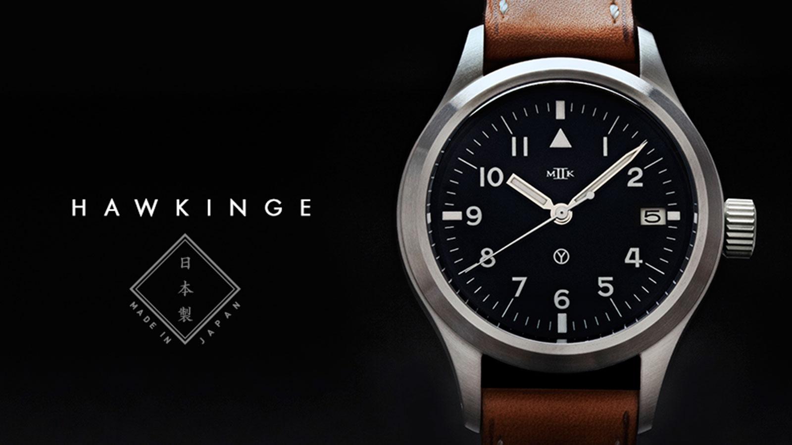 MKII Hawkinge Type 48 Men's Aviator Watch   best men's watches under $1000
