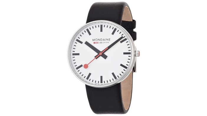 >Mondaine Swiss Railways Giant Watch | best men's watches under $300
