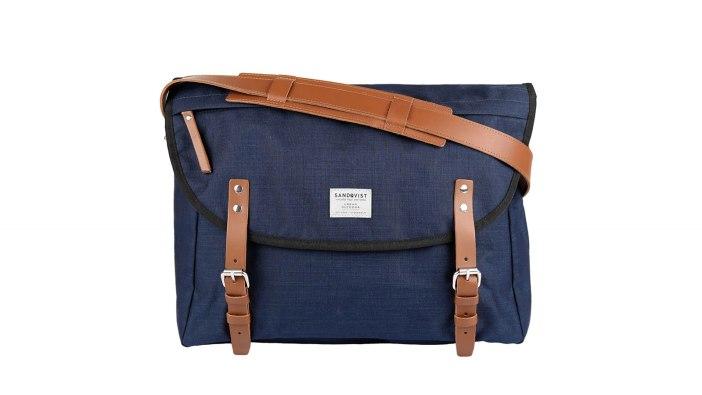 Sandqvist ERik Blue Messenger Bag | best messenger bags for men