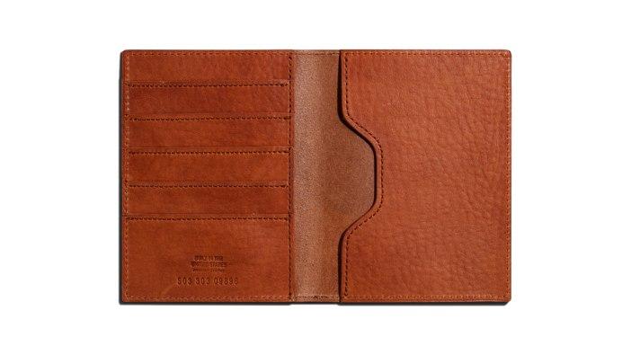 Shinola Passport Wallet | best passport holders for men