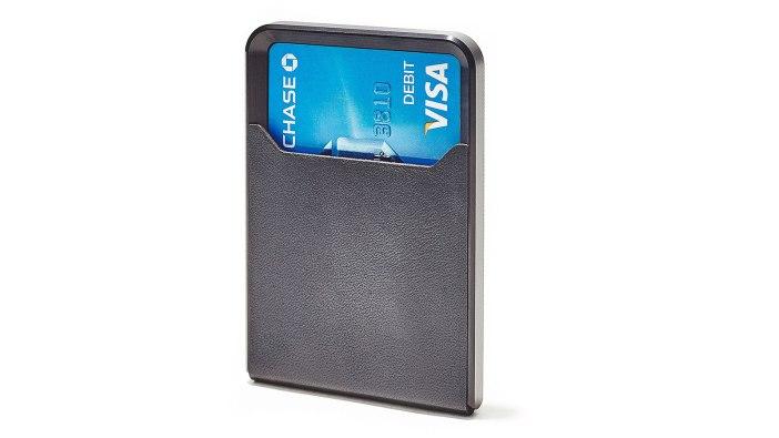 Grovemade Black Minimalist Metal Wallet   best metal wallet