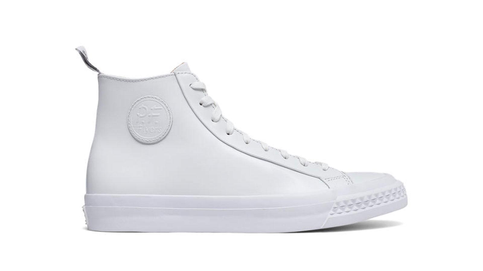 Todd Snyder PF Flyer Nubuck Rambler | best mens white sneakers
