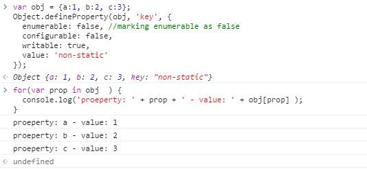 Different ways of setting a value to a Javascript object ...