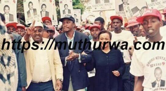 Uhuru kenyatta childhood photos