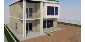 Maisonette House plan in kenya
