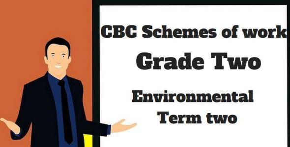 Environmental term 2, grade two, cbc schemes of work